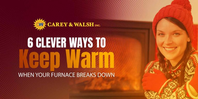 6 Clever Ways to Stay Warm When Your Furnace Breaks Down