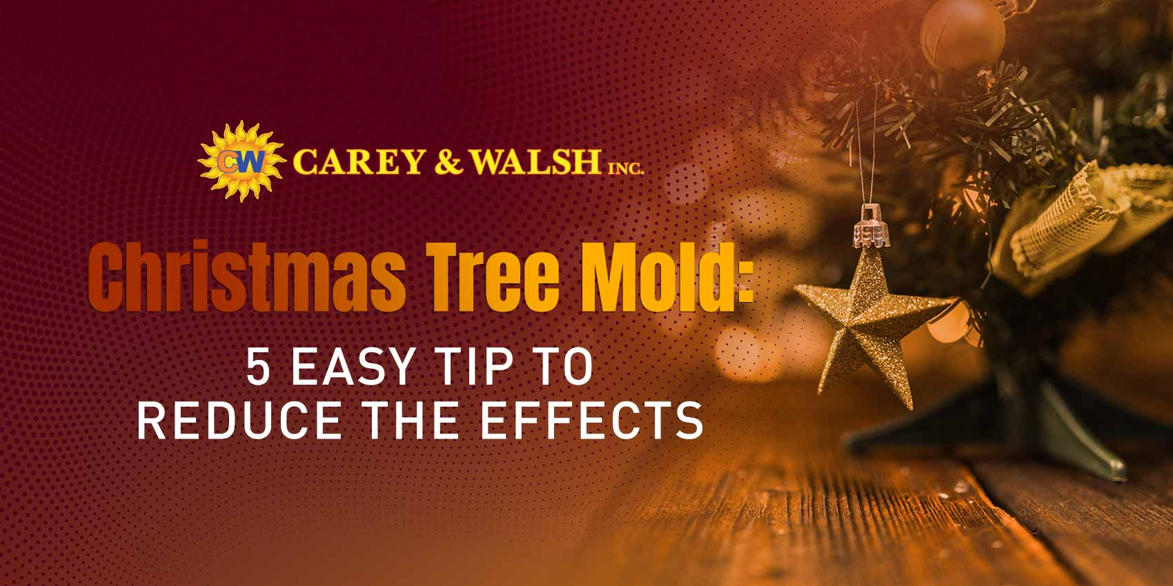 Christmas Tree Mold: 5 Easy Tip to Reduce the Effects