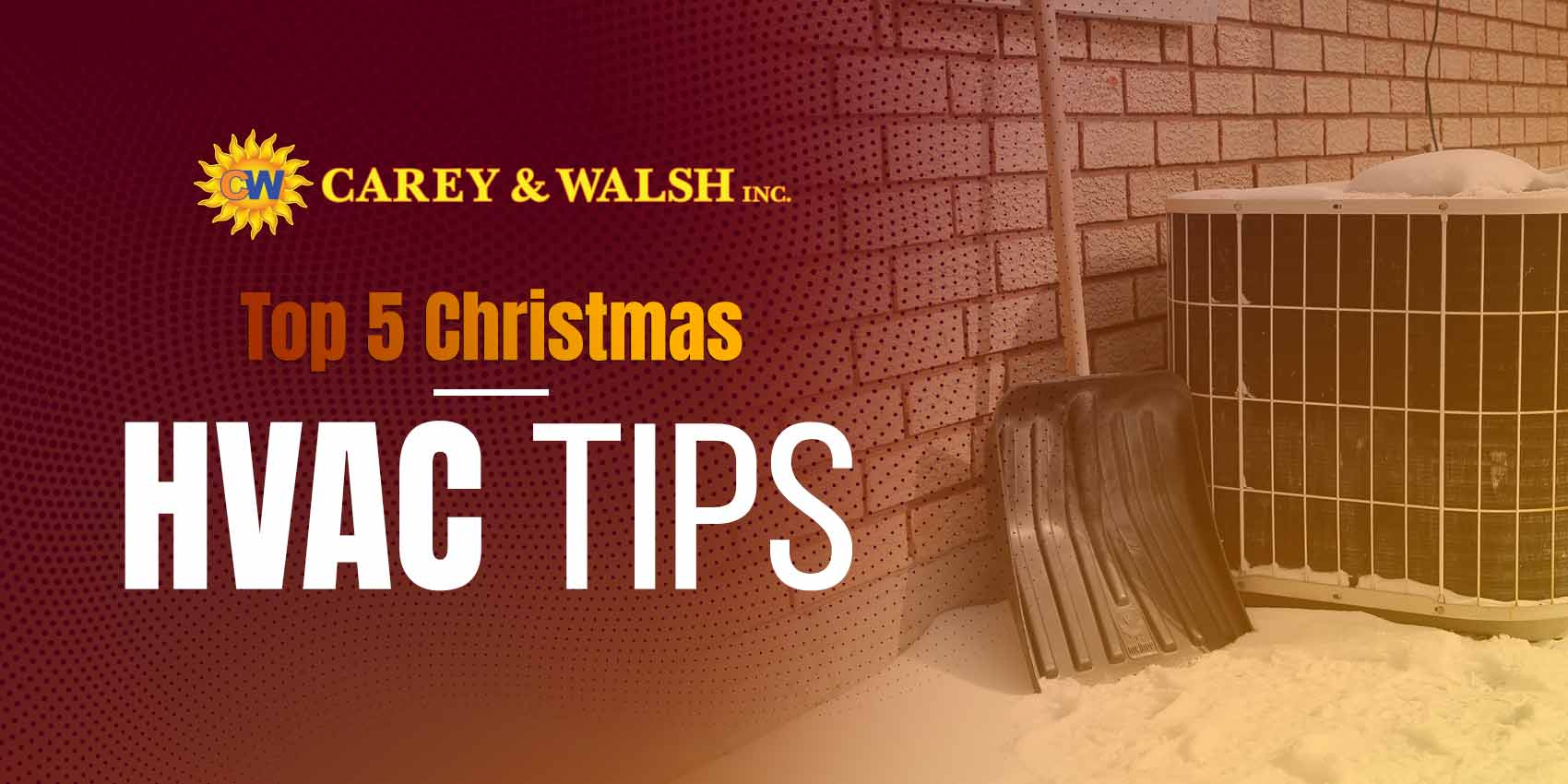 Top 5 Christmas HVAC Tips