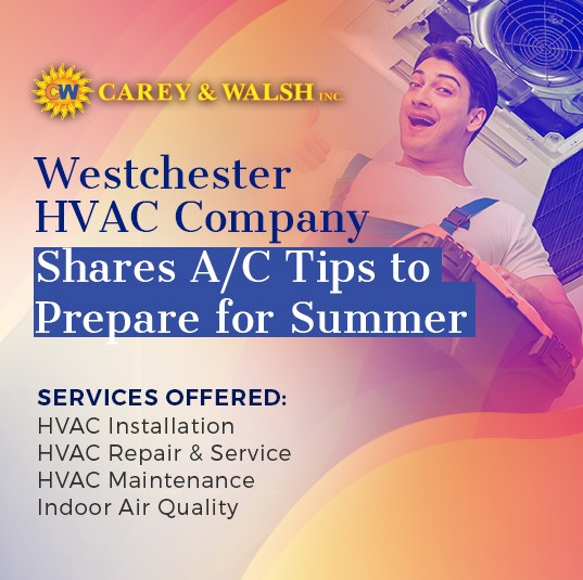 Westchester HVAC company shares A/C tips for the summer